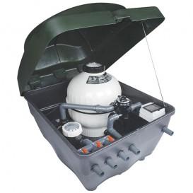 Compacto semienterrado Kefren con filtro y bomba
