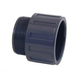 Terminal PVC para encolar y roscar macho (caja completa)