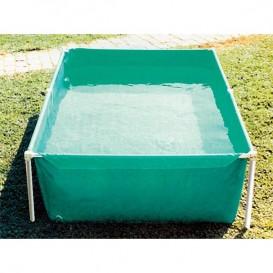 Piscinas de pl stico poolaria for Piscina plastico rectangular