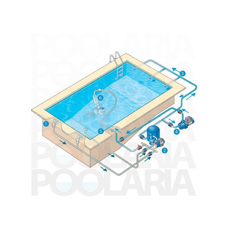 Polaris 3900 sport robot limpiafondos autom tico piscina for Como limpiar el fondo de una piscina sin limpiafondos