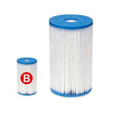 Cartucho filtro intex tipo b para depuradora piscina 59905 for Filtro piscina intex