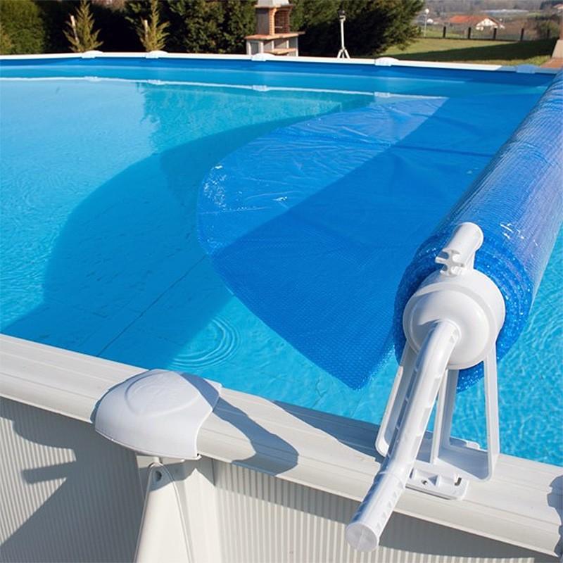 Enrollador de manta piscina desmontable gre 40135 poolaria for Gres para piscinas
