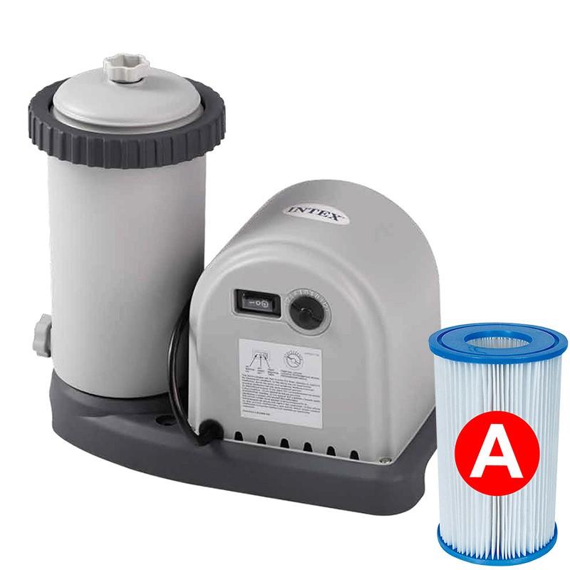 Depuradora de cartucho intex l h 28636 poolaria for Albercas portatiles rectangulares
