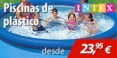 Oferta piscina desmontable Intex
