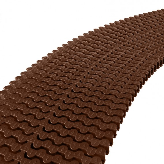 Módulo rejilla transversal marrón para curvas AstralPool