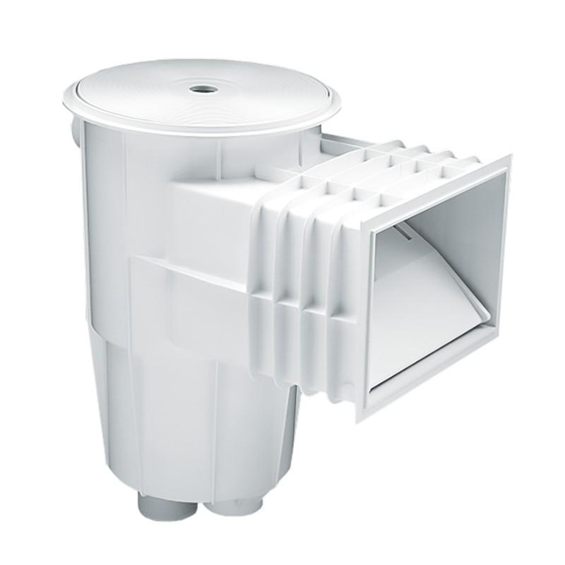 Skimmer boca standard tapa circular piscina hormig n for Instalar piscina precios