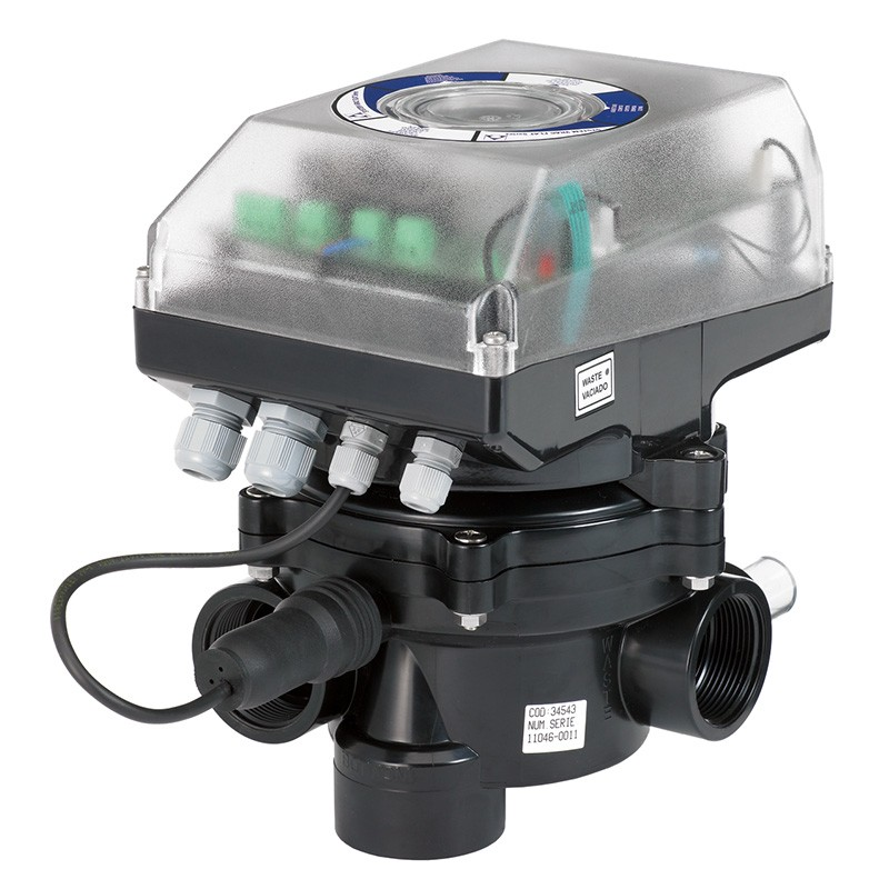 V lvula selectora autom tica system vrac flat 1 lateral for Valvula selectora piscina