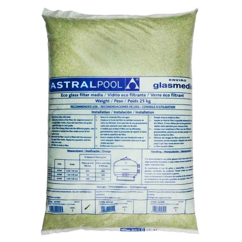 Vidrio eco filtrante astralpool poolaria - Vidrio filtrante para piscinas ...