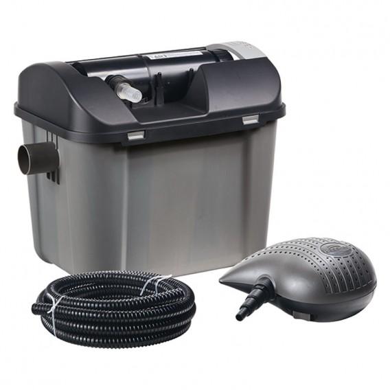Kit filtración estanque con bomba y UV 7000 litros Heissner