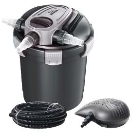 Set filtro a presión con bomba y lámpara UV estanques Heissner