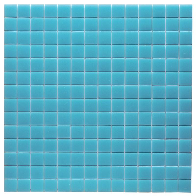 Gresite htk unicolor azul nansa poolaria for Gresite piscina precio m2