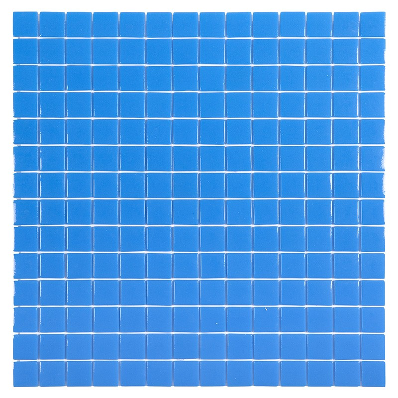 Gresite htk unicolor azul yera poolaria for Gresite piscina bricodepot
