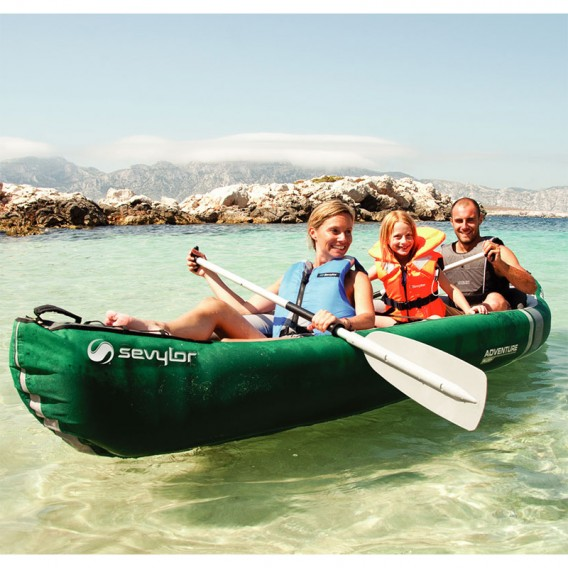 Canoa Adventure Plus 3 personas Sevylor