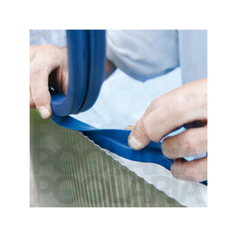 Liner azul piscina gre redonda 30 100 altura 90 sistema colgante poolaria - Recambios piscinas gre desmontables ...