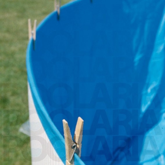 Liner Azul piscina Gre 20/100 - Altura 90 - Sistema Overlap