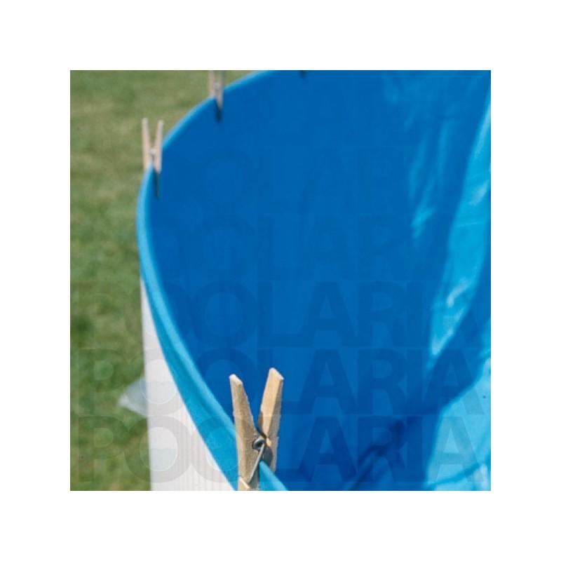 Liner azul piscina gre redonda 20 100 altura 90 for Liner piscina gre