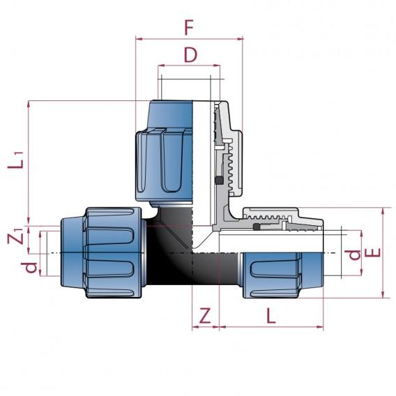 Dimensiones te polietileno ampliada