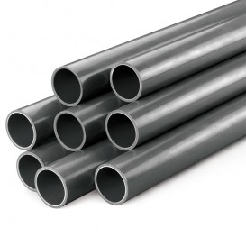 Tubo PVC presión PN16 gris rígido D25-D315