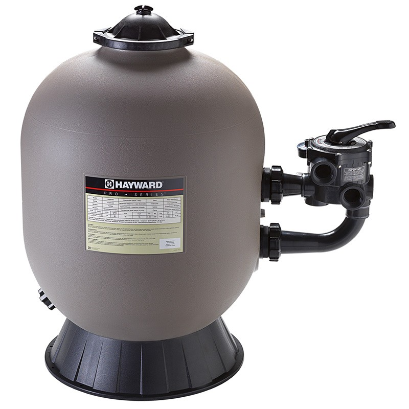 Filtro hayward serie pro lateral depuradora piscina poolaria for Piscinas rectangulares con depuradora