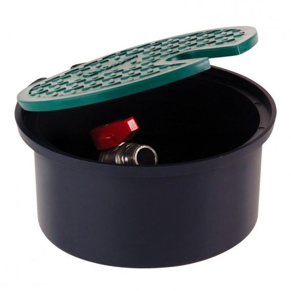 Arqueta circular con válvula para manguera