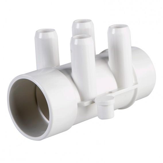 Colector de agua spa 4 salidas