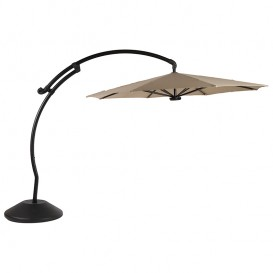 Sombrilla para spa color Cameo con LED