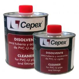 Disolvente limpiador para PVC Cepex