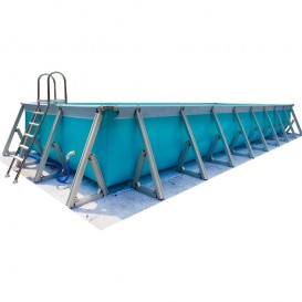 Piscina Plus desmontable rectangular IASO