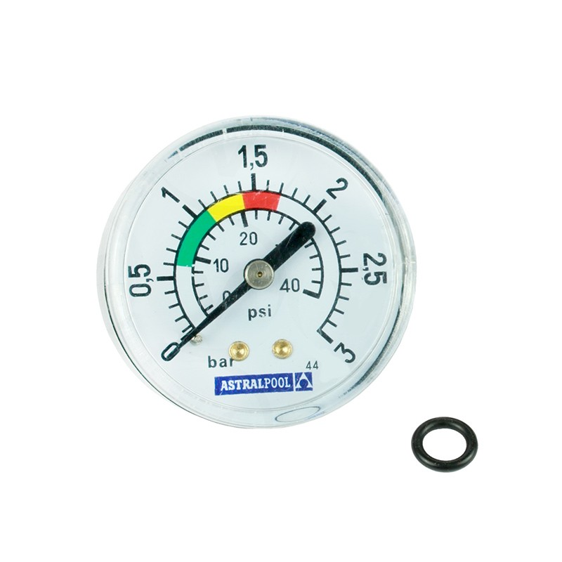 Man metro 3 kg cm filtro astralpool 4404010103 poolaria for Manometro para medir presion de agua