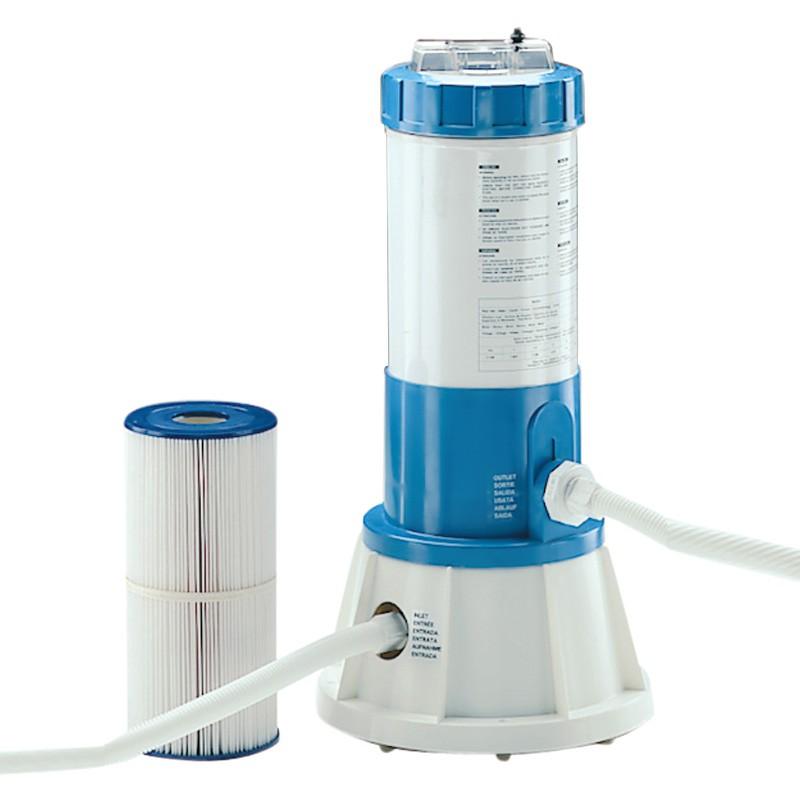 filtro de cartucho cil ndrico con bomba incorporada