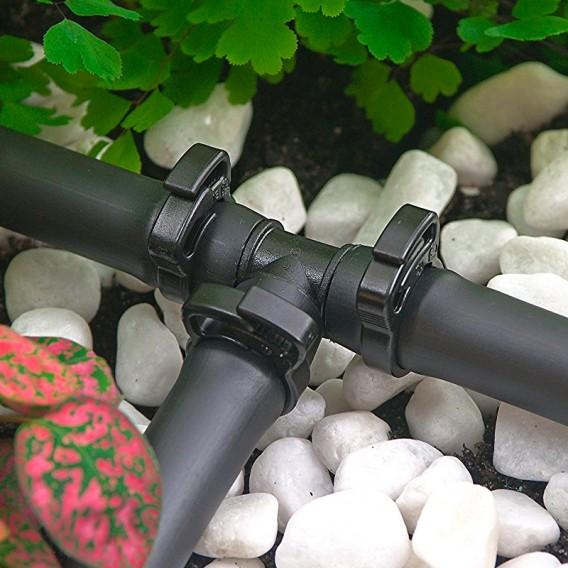 Abrazadera trinquete 16-18 mm riego goteo