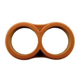 Tapón doble anillo 16 mm PE riego por goteo