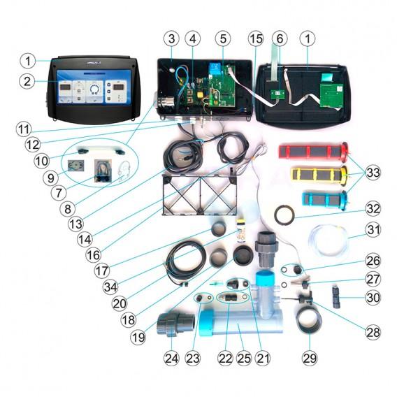 Componentes AstralPool Dual Pure