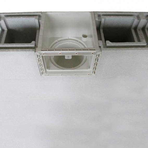 Esquema instalación skimmer SPS 250 AstralPool