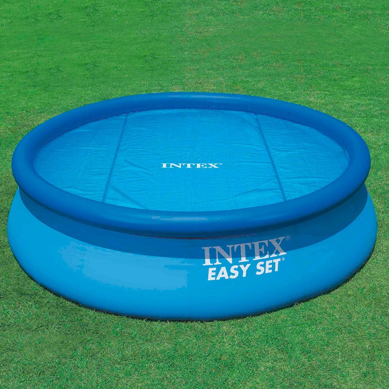 Cobertor solar piscinas intex easy set y metal frame for Piscinas circulares desmontables