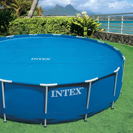 Cobertor solar piscinas Intex Easy Set y Metal Frame