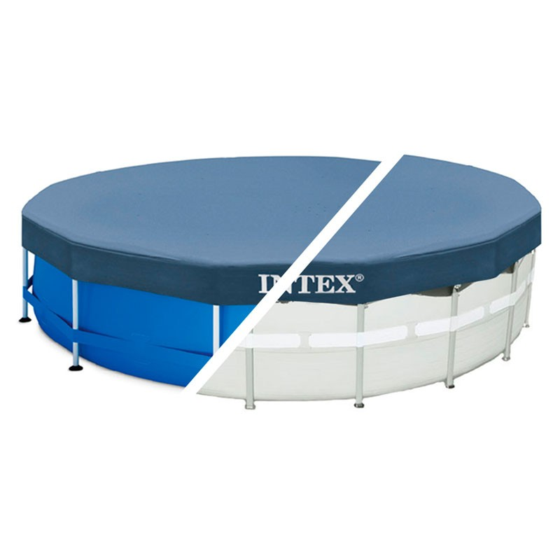 Cobertor Circular Piscinas Intex Metal Frame Poolaria