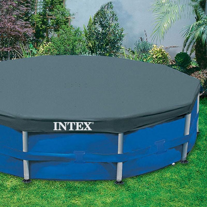 Cobertor circular piscinas intex metal frame poolaria - Fotos de piscinas intex ...
