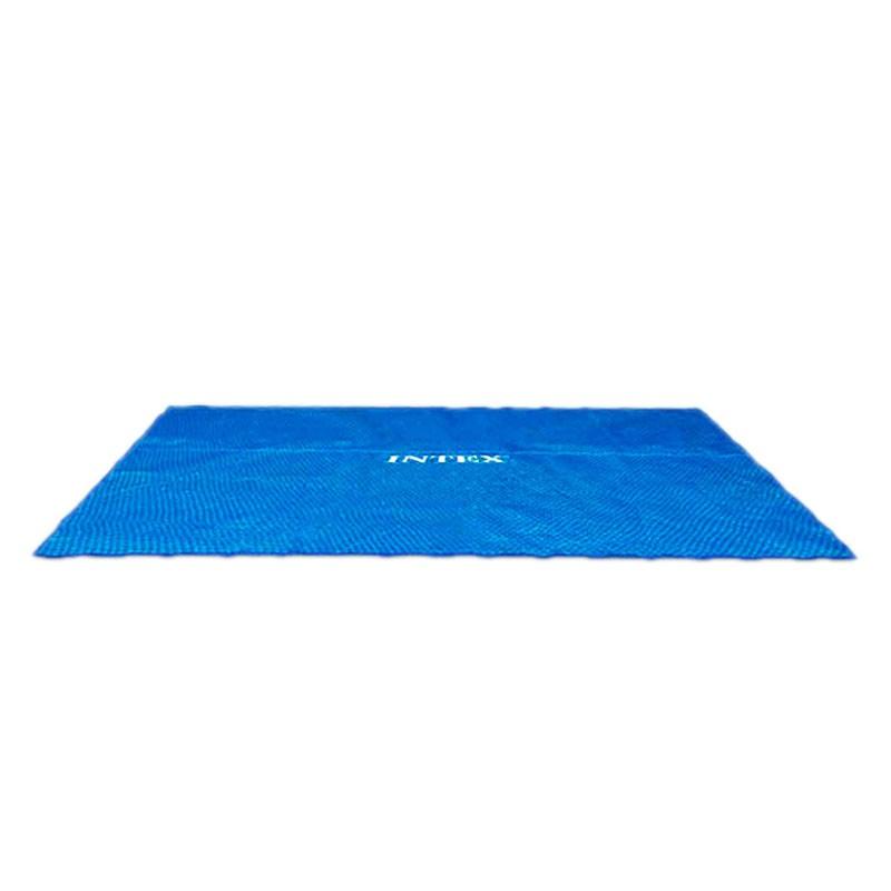 Cobertor solar piscina rectangular intex poolaria for Piscinas desmontables rectangulares intex