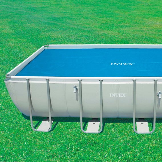 Cobertor solar piscina rectangular Intex