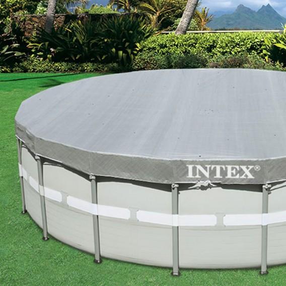 Cobertor piscina Intex redonda Deluxe 28040 28041