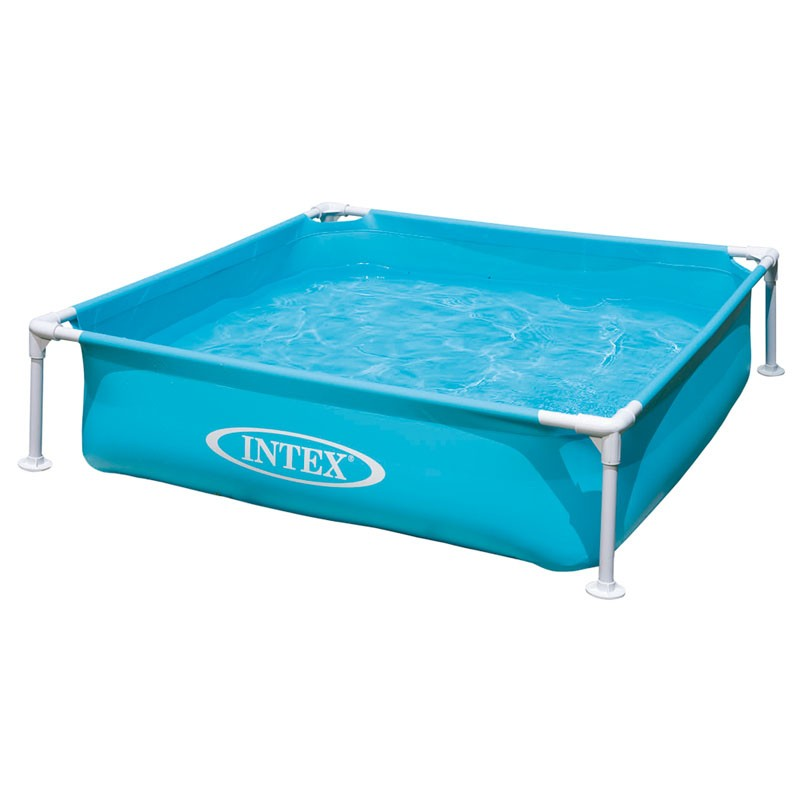 piscina desmontable infantil intex mini frame 122x122x30