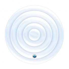 Cubierta isotérmica hinchable para NetSpa circular 6 personas