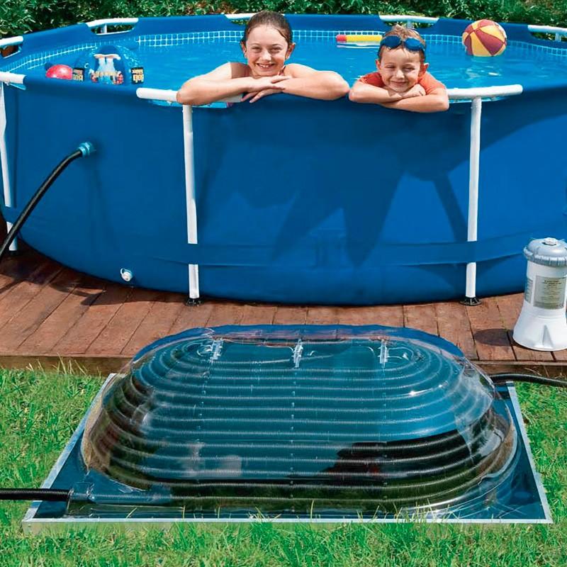 Colector solar piscina poolex maxi pool sun poolaria - Calentar piscina solar ...