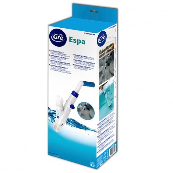 Packaging limpiafondos a batería Gre Pool & Spa Vac ESPA