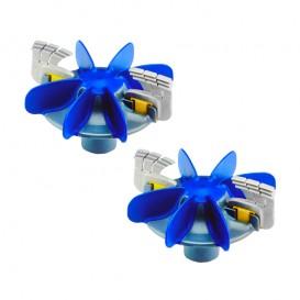 Kit hélices y cepillos limpiafondos Zodiac MX8 / MX9