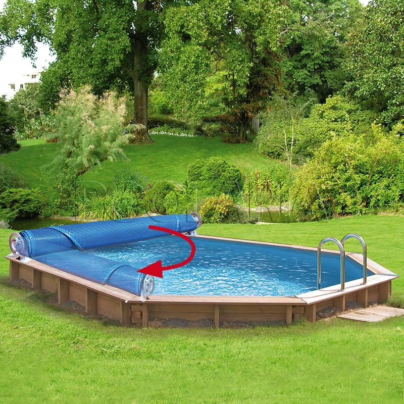 Enrollador piscinas elevadas luxe gre 621535 poolaria - Piscinas desmontables bricodepot ...