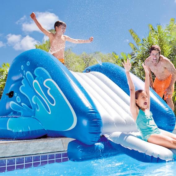 Tobogán hinchable Intex Water Slide 58849NP