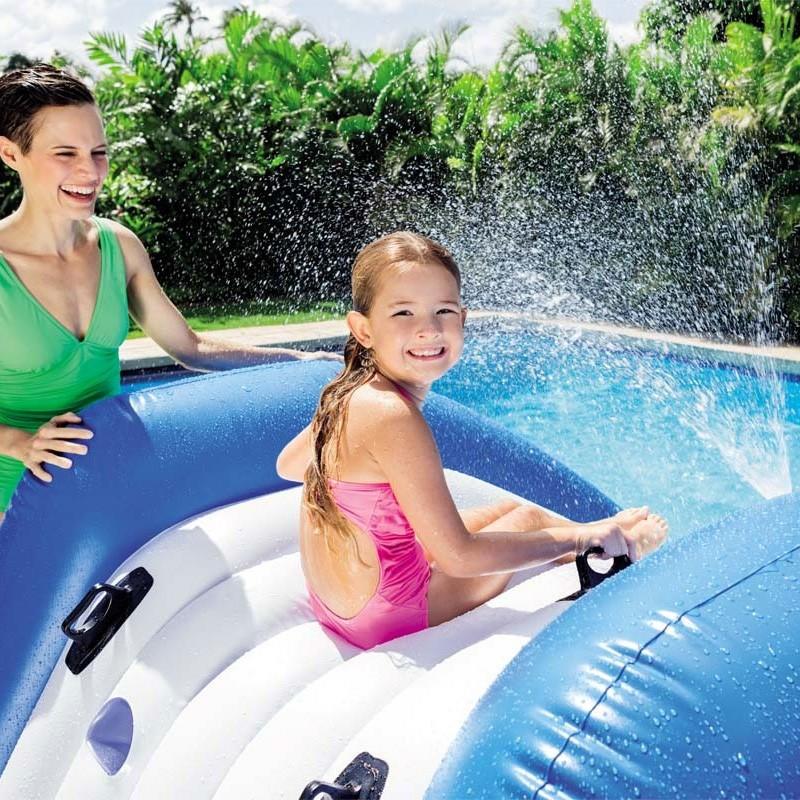 Tobog n hinchable intex water slide 58849np poolaria - Tobogan hinchable para piscina ...