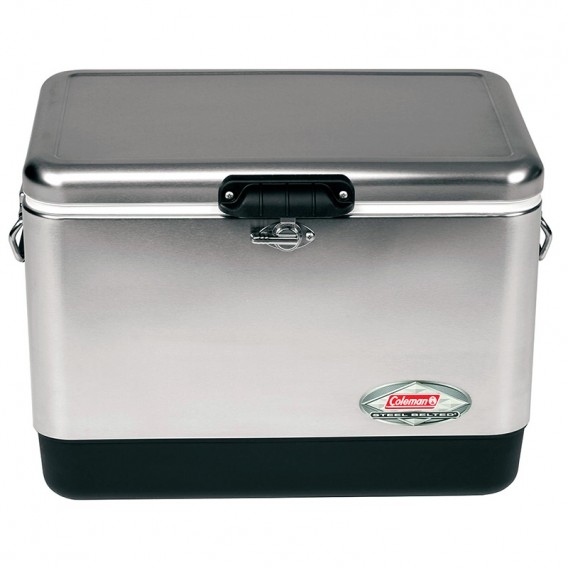Nevera acero inoxidable Coleman 54QT Steel-Belted